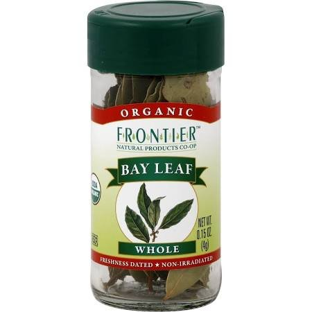 Frontier Bay Leaf Whole 0.15 oz. Bottle (0.15 Ounce Bottle)