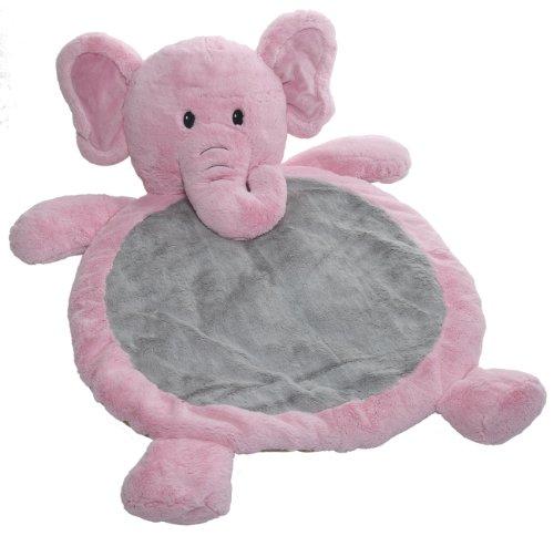 Mary Meyer Bestever Baby Mat, Elephant Pink