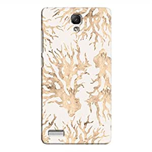 Cover It Up - Blue Pastel Nature Print Redmi Note 4G Hard Case