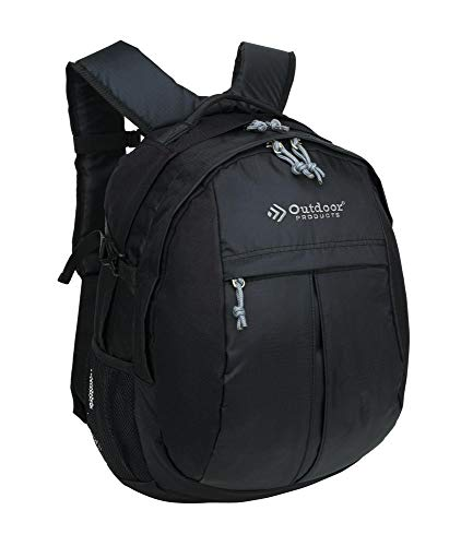 Outdoor Products Contender Day Pack, 25.1-Liter Storage, Grey/Black