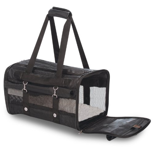 Carrier Pet Rollup (Sherpa 64521 Roll Up Pet Carrier, Large, Black)