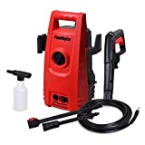 PowRyte Works 2000 PSI 1.6 GPM Compact Electric Pressure Washer, Portable Electric Power Washer with External Detergent Dispenser