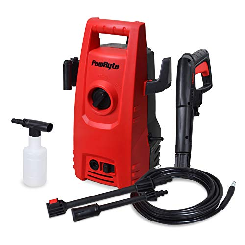 PowRyte Works 1600 PSI 1.6 GPM Compact Electric Pressure Washer, Portable Power Washer with External Detergent Dispenser (Car Washer Pressure Machine, Power Wash Machine, Pressure Cleaner) Review