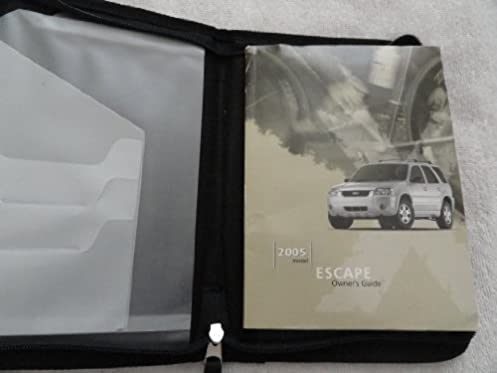 2005 ford escape owners manual ford motor company amazon com books rh amazon com 2005 ford escape xlt 4wd owners manual 2004 ford escape xlt manual