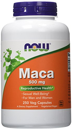 NOW Maca 500mg 250 Capsules product image