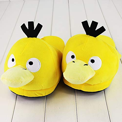 Misty Cosplay Shoes (Pitaya. 28Cm Soft Slippers Psyduck Winter Indoor Plush Slippers Unisex M Home Slippers Shoes -Complete Series)