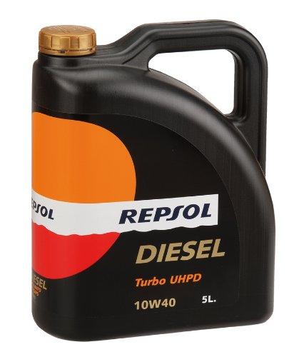 REPSOL Diesel uhpd motor Turbo aceite de 5 L, 10 w40: Amazon.es: Coche y moto