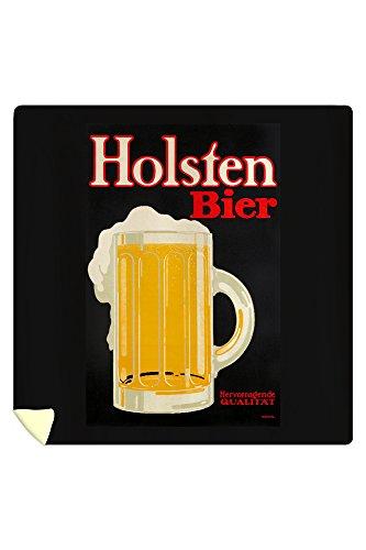 holsten-bier-vintage-poster-artist-klinger-germany-c-1916-88x88-queen-microfiber-duvet-cover