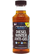 Hot Shot's Secret Diesel Winter Anti-Gel 16 Ounce Round Bottle, Amber (P403316Z)
