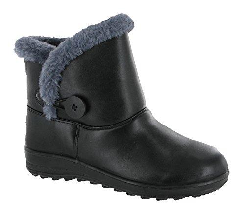 Cushion Walk - Botas para mujer - PU Black