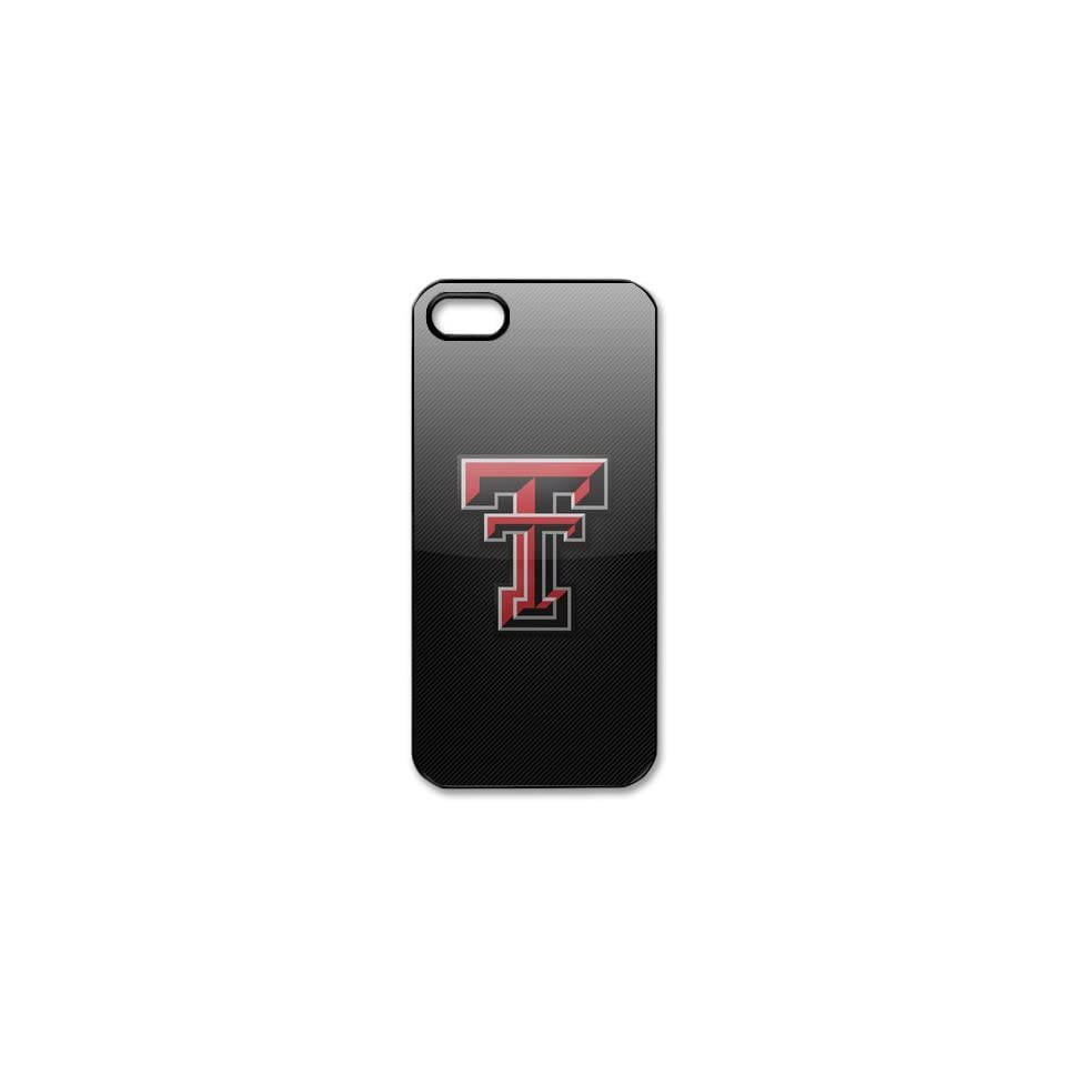 DIYCase Cool NCAA Series Texas Tech Red Raiders   Hard Back Case for iphone 5   Black Case Designer   138868