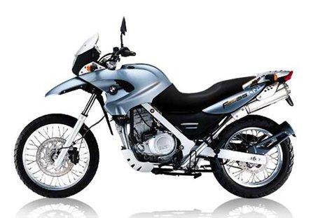 BMW F650GS (F 650 GS) - Motorrad - 1:12 - SilberSchwarz (LGA Sicheres Spielzeug) Wachsmuth & Krogmann Sportmaschine / Enduro