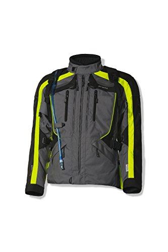 Olympia Sports Men's X Moto 2 Jacket (Neon Yellow, Medium)