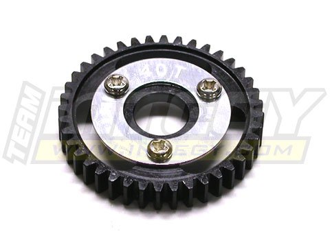 - Integy RC Model Hop-ups T3219 40T Steel Spur Gear for 1/10 Revo & Slayer(Both)