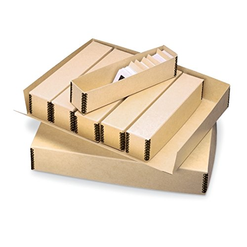 - Gaylord Archival Modular Slide File Storage System Kit - For Storing & Organizing Hundreds of Slides