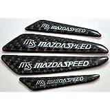 MAZDA マツダ アクセラ アテンザ AXELA ATENZA CX-5 傷付き防止ドア ガーニッシュ カーボン デザイン