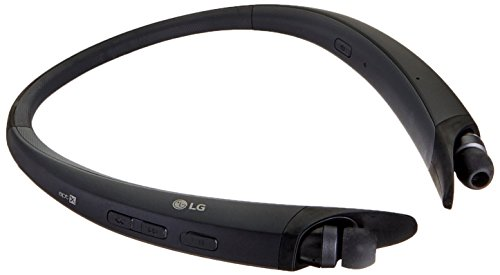 Black Bluetooth Headset - LG Tone Active Stereo Bluetooth Headset - Black