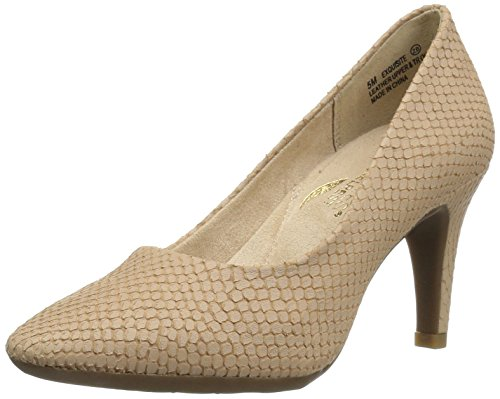 Aerosoles Women's Exquisite Dress Pump, Light Tan Snake, 5.5 M US (Snake Tan)