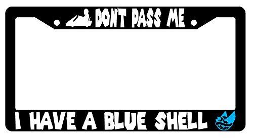 shell license plate frame - 3