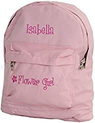 Personalized Wedding Day Flower Girl Backpack