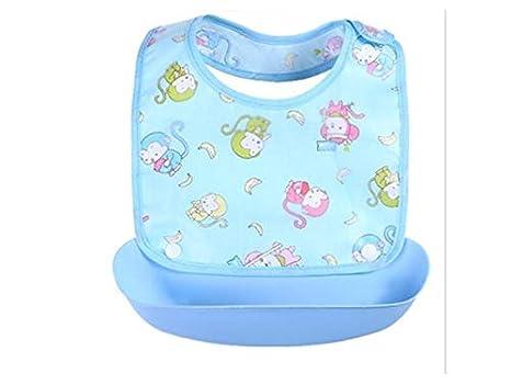 Babero infantil Dibujos animados lindo pvc bebé babero niños pequeños toalla de saliva niños babero Drool