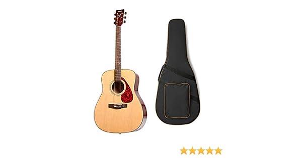 Yamaha f325d parte superior de abeto sólido dreadnought guitarra ...