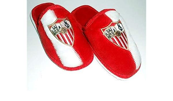 FUTBOL Zapatillas de casa Sevilla Club 24 al 34-24: Amazon.es ...