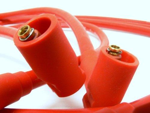 OBX Red Spark Plug Ignition Wire Set 99-05 Mazda Miata 1.8l