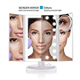 WONDER MIRROR 2019 Led Lighted Trifold Makeup