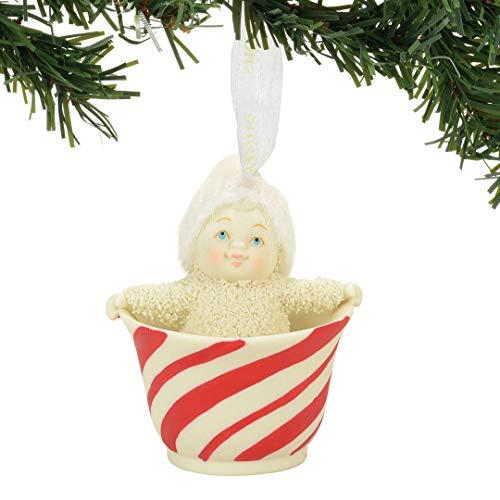 "Department 56 Snowbabies ""Sweet Tea"" Porcelain Ornament, 2.36"""