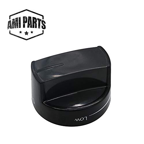 W10339442 Range Burner Knob Compatible with Whirlpool Stove Oven Replacement Parts by AMI - Replaces PS11753188 WPW10339442 WPW10339442VP (Whirlpool Stove Parts)