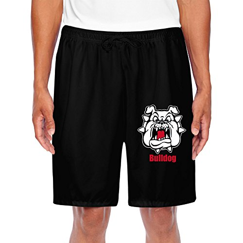 - HNN Men's Bulldog Performance Shorts Sweatpants