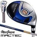 マグレガー ゴルフ マックテック MACTEC FS101 ブルー フェアウェイウッド FS4851N カーボンシャフト 7W/R