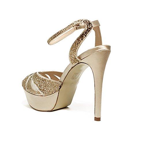 2017 Collection Nouveau Sandale 2714 Bijou Printemps D'or B Été Gold Ikaros 0qv1HwF