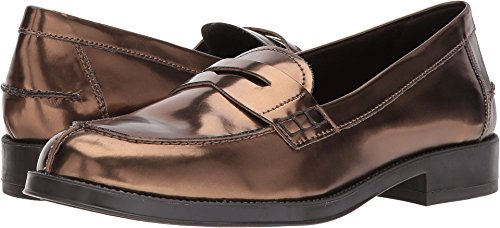 Aerosoles Women's Push Ups Penny Loafer, Bronze, 8.5 W (Ladies Penny Loafers)
