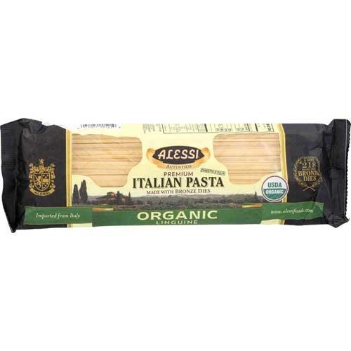 Alessi Organic Linguine Pasta, 16 Ounce - 12 per case.