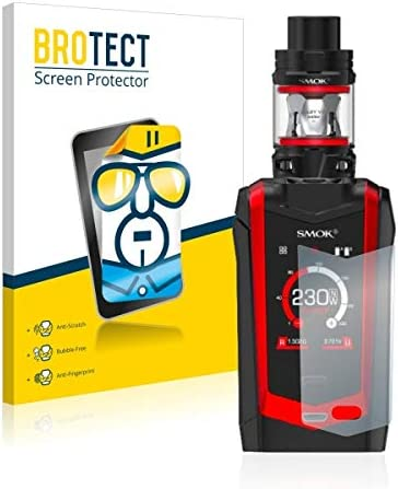 Hard-Coated BROTECT Dirt-Repellent 2X HD-Clear Screen Protector for Smok Species Crystal-Clear
