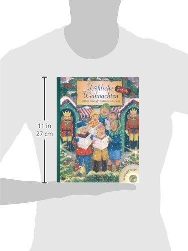 Frohliche Weihnachten: Learning Songs & Traditions in German Book & Audio CD (Teach Me) (Teach Me Series) (German and English Edition) by Rauenhorst, Linda/ Collier-Morales, Roberta (ILT)