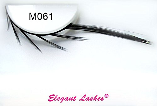 Hunger Games Makeup (Elegant Lashes M061 Mystic False Eyelashes | As Seen in The Hunger Games: Catching Fire on Johanna Mason!)