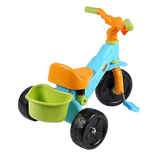 Virhuck Kids First Ride Trikes for Kids Toddlers Children Tricycle 3 Wheel Pedal Bike for 1 2 3 4 Years Old Kids Boys Girls, Multi-Coloured, Maximum Weight 30 KG by Virhuck (Image #4)