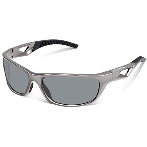 Tsafrer Unisex Polarized Sports Sunglasses for Men Women Cycling Driving Running Golf Tr90 - Best 2017 Sunglasses Sport