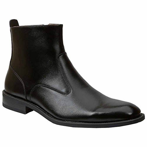Giorgio Brutini Mens 66014 Stivale Boot Black Vitello