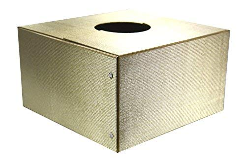 The Original Christmas Tree Box, Deluxe Gold Sparkle - 16