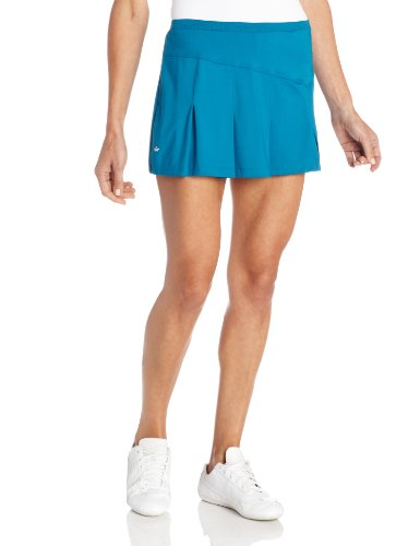 Bollé Women's Solar Wind Multi Pleat Skirt, Teal, X-Small