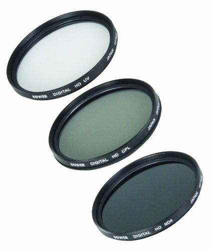 Bower VFK77C 77mm 5-Piece Digital Filter Kit by Bower