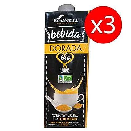3 Litros BEBIDA DORADA SORIA NATURAL: Amazon.es: Salud y cuidado ...