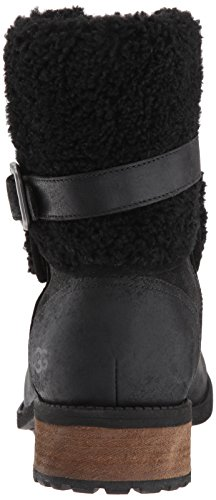 II Blayre Black Ugg Leather Boots Australia Womens AtFwqOS