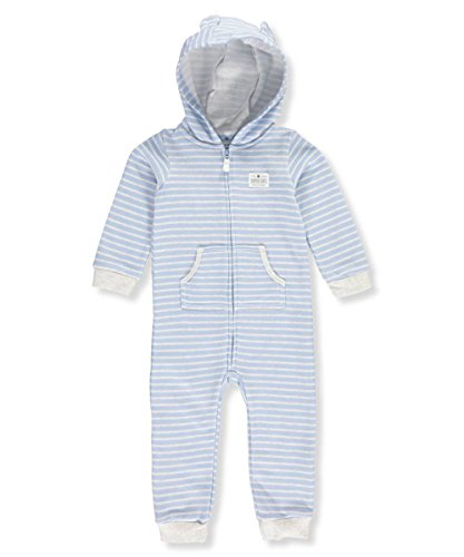 Carter's Baby Boys' Hooded Bear Jumpsuit 24 Months
