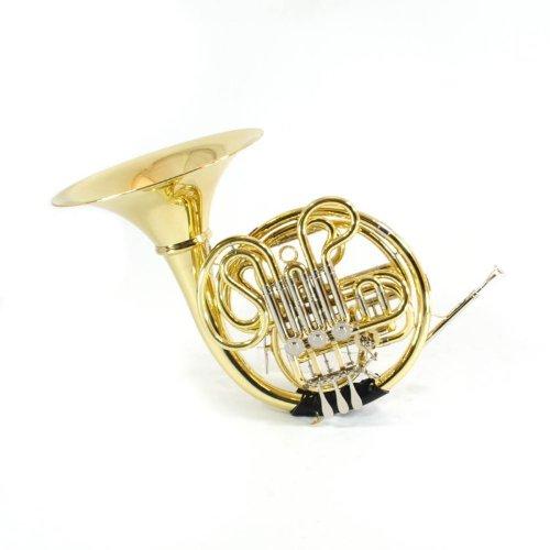 Schiller Elite V Double French Horn - Gold Lacquer by Schiller