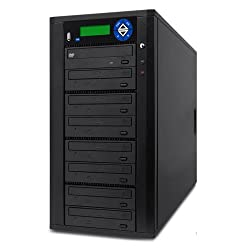Spartan Duo 7 Target Sata Dvd Duplicator With Usb Slot D07-sdsp (Black)